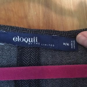 Eloquii Dresses - Perfect work dress! Subtle houndstooth pattern.